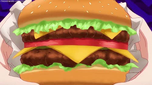 Watch and share Burger GIFs by X5AN on Gfycat