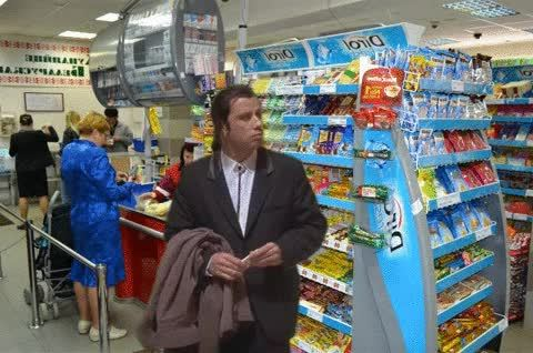 confusedtravolta, MRW a friend asks me to wait in queue a while and disappears GIFs