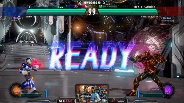 Maximilian_DOOD Playing Marvel vs. Capcom Infinite - Twitch Clips