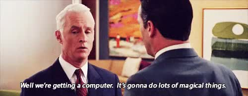 Watch this computer GIF on Gfycat. Discover more computer, john slattery, mad men GIFs on Gfycat