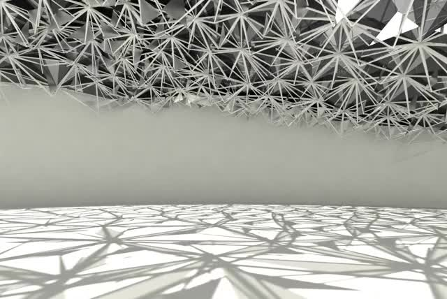 Watch Radiance Canopy Animation GIF by Dan Cascaval (@dcascaval) on Gfycat. Discover more Architecture, Grasshopper, Kinetic GIFs on Gfycat