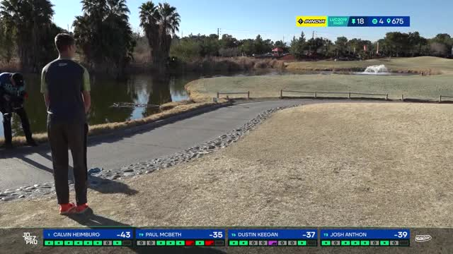 Watch 2019 LVC | FINAL Round | Calvin Heimburg hole 18 approach GIF by Benn Wineka UWDG (@bennwineka) on Gfycat. Discover more dgpt, disc golf, disc golf 2019, disc golf pro tour, disc golf videos, jomez coverage, jomez disc golf, jomez productions, jomezpro, pdga GIFs on Gfycat