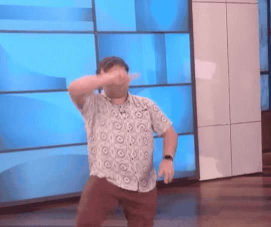 Watch this jack black GIF by GIF Queen (@ioanna) on Gfycat. Discover more act, applause, black, bow, dance, dancing, ellen, gracias, jack, show, ta da, tada, tadaa, thank you, thanks GIFs on Gfycat