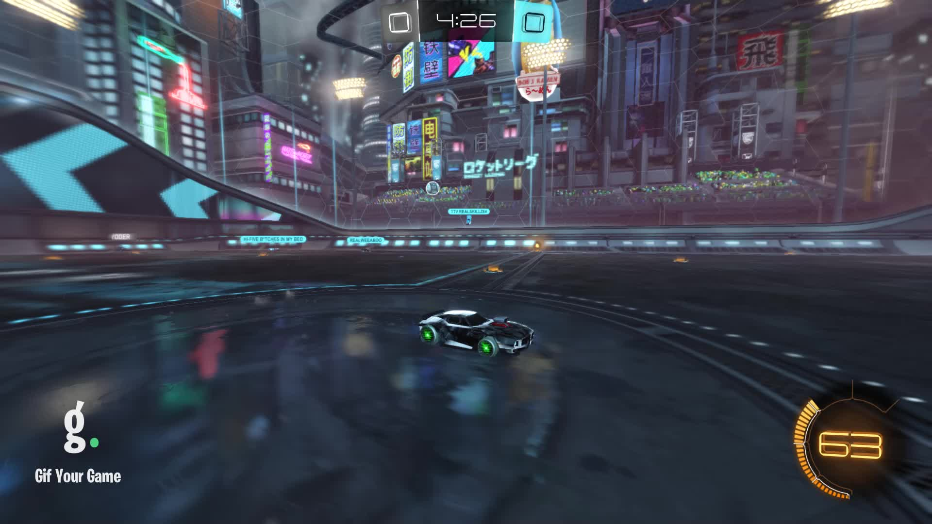 Duck Dodgers, Gif Your Game, GifYourGame, Rocket League, RocketLeague, Save, Save 1: Duck Dodgers GIFs