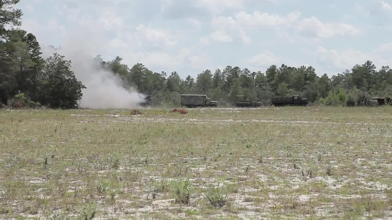 militarygfys, USMC M136 AT4 Anti-tank rockets and SMAW live fire (reddit) GIFs