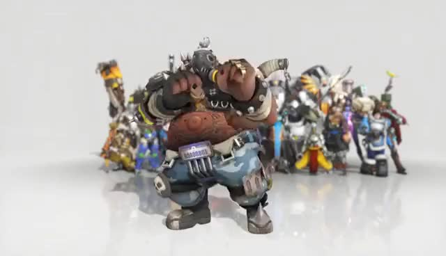 Watch and share Overwatch Roadhog Dance Emote Animated Wallpaper 1080p FULLHD GIFs on Gfycat