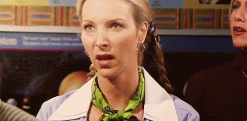 Lisa Kudrow, Phoebe is Disgusted GIFs