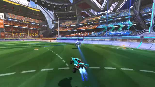 Watch The Barbie Reset GIF by @thecntheorum on Gfycat. Discover more flip reset, goal, league, rocket, rocket league, shot, wall shot GIFs on Gfycat