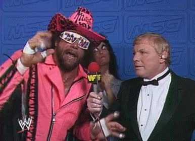 Watch and share Macho Man, Accept GIFs on Gfycat