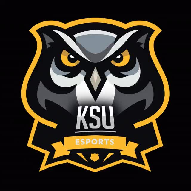 Watch and share KSU Esports Logo(Fixed) GIFs on Gfycat