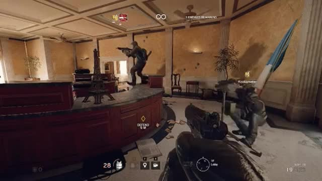 Watch and share Rainbow Six GIFs on Gfycat
