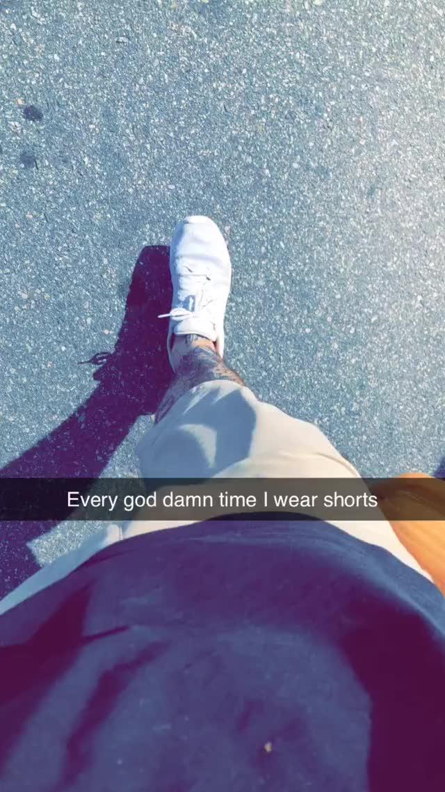 i want I could wear shorts