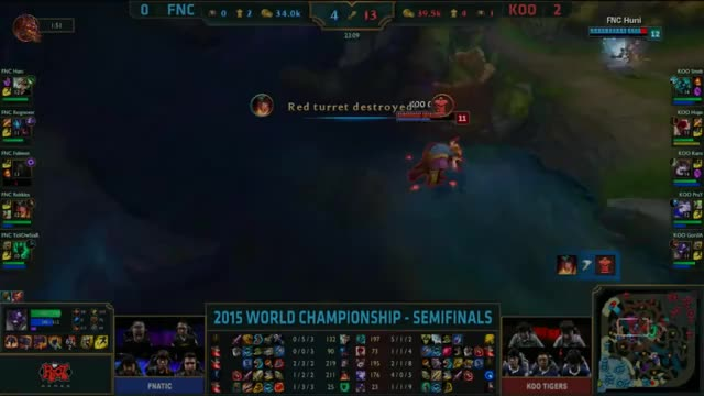 Watch and share [Worlds 2015] KOO Smeb #6 FNC GIFs by ITCC on Gfycat