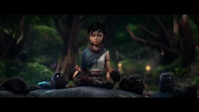 Watch and share Kena Bridge Of Spirits - Announcement Trailer   PS5 GIFs by Pickled Sea Cat on Gfycat