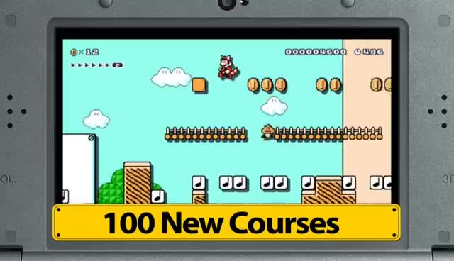 Watch and share Super Mario Maker For Nintendo 3DS – Medal Challenges GIFs on Gfycat