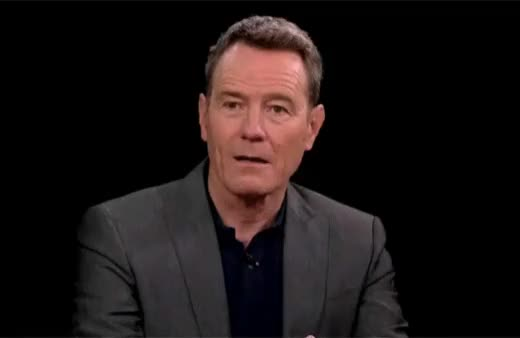 Watch and share Stephen Colbert GIFs and Bryan Cranston GIFs on Gfycat