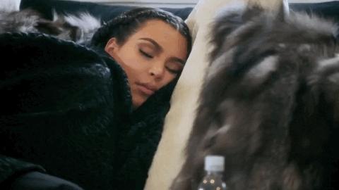 kim kardashian, sleep, sleeping, sleepy, zzz, Kim Kardashian Sleeping GIFs