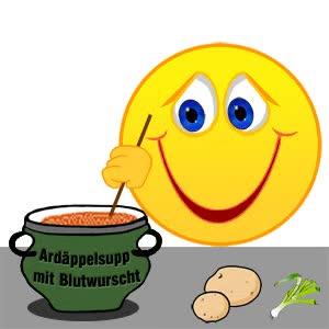 Watch and share Smiley – Kartoffelsuppe Mit Blutwurst GIFs on Gfycat