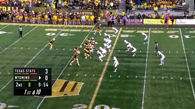Watch and share Josh Allen Vs 2017 GIFs and Josh Allen Wyoming GIFs on Gfycat