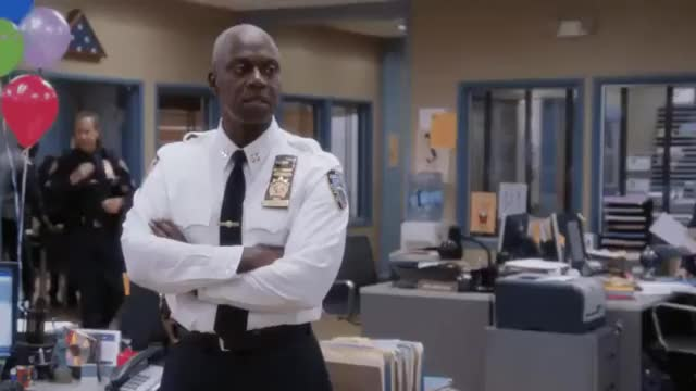 Watch and share Andre Braugher GIFs by George Rios on Gfycat