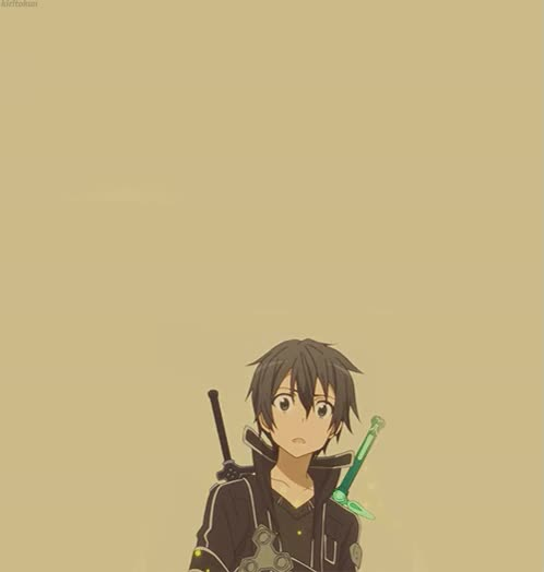 Watch kazuto kirigaya GIF on Gfycat. Discover more related GIFs on Gfycat