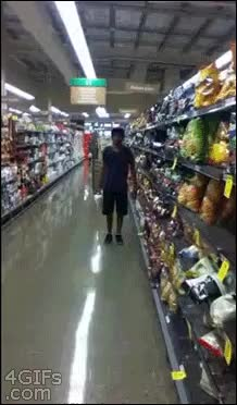 Watch Grocery Store Karma GIF on Gfycat. Discover more whatcouldgowrong GIFs on Gfycat