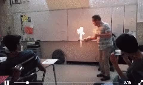 Watch Chemistry demonstration (reddit) GIF on Gfycat. Discover more related GIFs on Gfycat