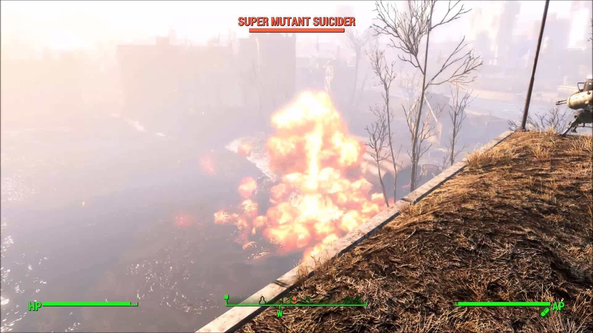 fo4, gaming, Rockets Away! [FO4 - Defend Castle] GIFs