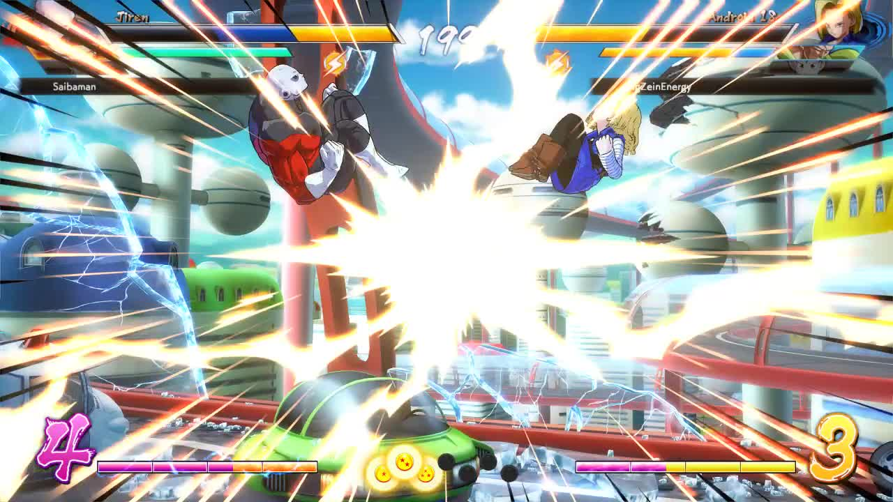 dbfz, dragon ball fighterz, oh yeah, this move exists GIFs