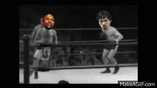 Watch Floyd Mayweather vs Manny Pacquiao FULL Fight FLOYD MAYWEATHER RUNNING AROUND FUNNY SPOOF GIF on Gfycat. Discover more related GIFs on Gfycat
