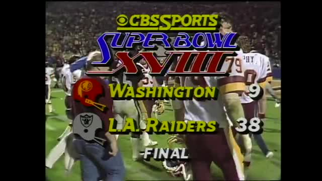 Watch Super Bowl XVIII: Marcus Allen Runs All Over Washington | Redskins vs. Raiders | NFL Full Game GIF on Gfycat. Discover more 23, Football, Longest, MVP, Marcus, NFC, Oakland, Tampa, Underdog, afc, defense, history, offense, pick, raiders, redskins, run, ryan, stadium, washington GIFs on Gfycat