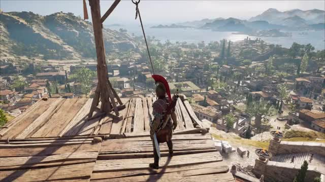 Watch Rope sliding GIF by 𝙀 (@thegreenmario) on Gfycat. Discover more Ares Armor, Assassin's Creed Odyssey, Kassandra, Leonidas Spear, Rope Sliding GIFs on Gfycat