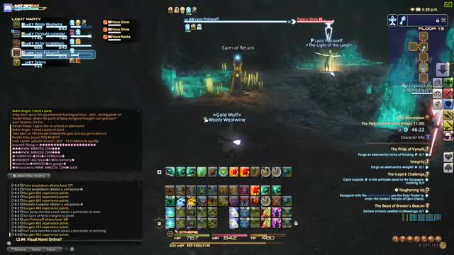 Watch and share Final Fantasy 14 GIFs by woolywoolwine on Gfycat