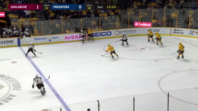 Viktor Arvidsson goal against the Colorado Avalanche