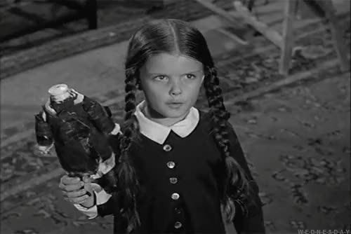 Watch and share Wednesday Addams GIFs on Gfycat