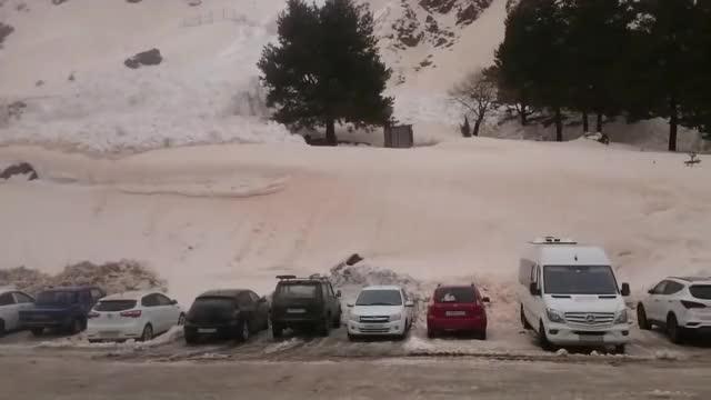 Parking Lot Avalanche