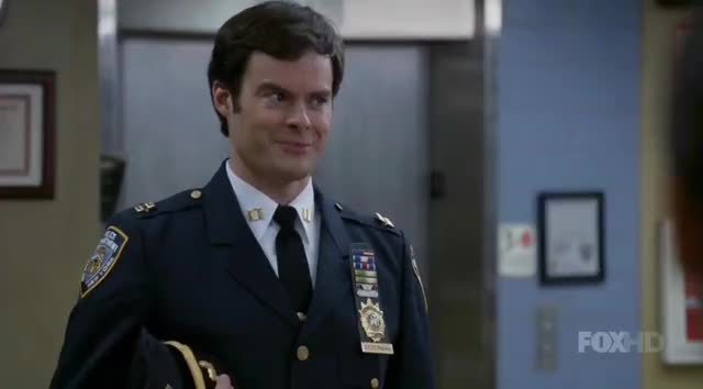 Watch and share Brooklyn Nine Nine GIFs and Bill Hader GIFs by Vincent Riemer on Gfycat