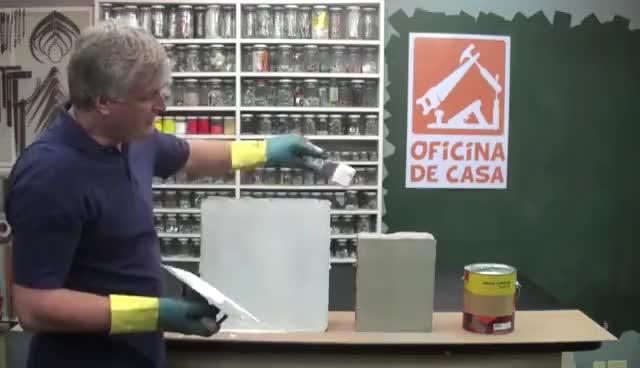 Watch Como preparar uma parede para pintura #DIY • Oficina de Casa GIF on Gfycat. Discover more related GIFs on Gfycat