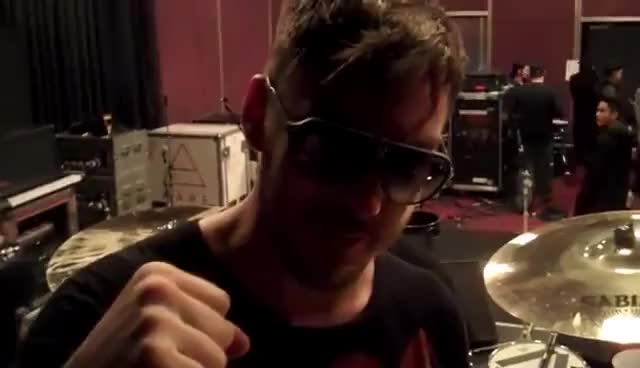 Watch shannon leto GIF on Gfycat. Discover more 30 Seconds to Mars, Shannon Leto, drum, drummer, drumming, drums, sabian, sonor GIFs on Gfycat