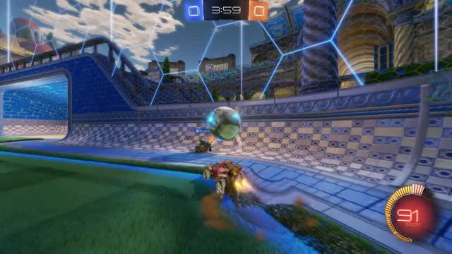 Watch Goal 1: Kahuna GIF by Gif Your Game (@gifyourgame) on Gfycat. Discover more Gif Your Game, GifYourGame, PXD | Wuast94, Rocket League, RocketLeague GIFs on Gfycat