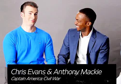 Watch and share I Cannot Believe GIFs and Anthony Mackie GIFs on Gfycat