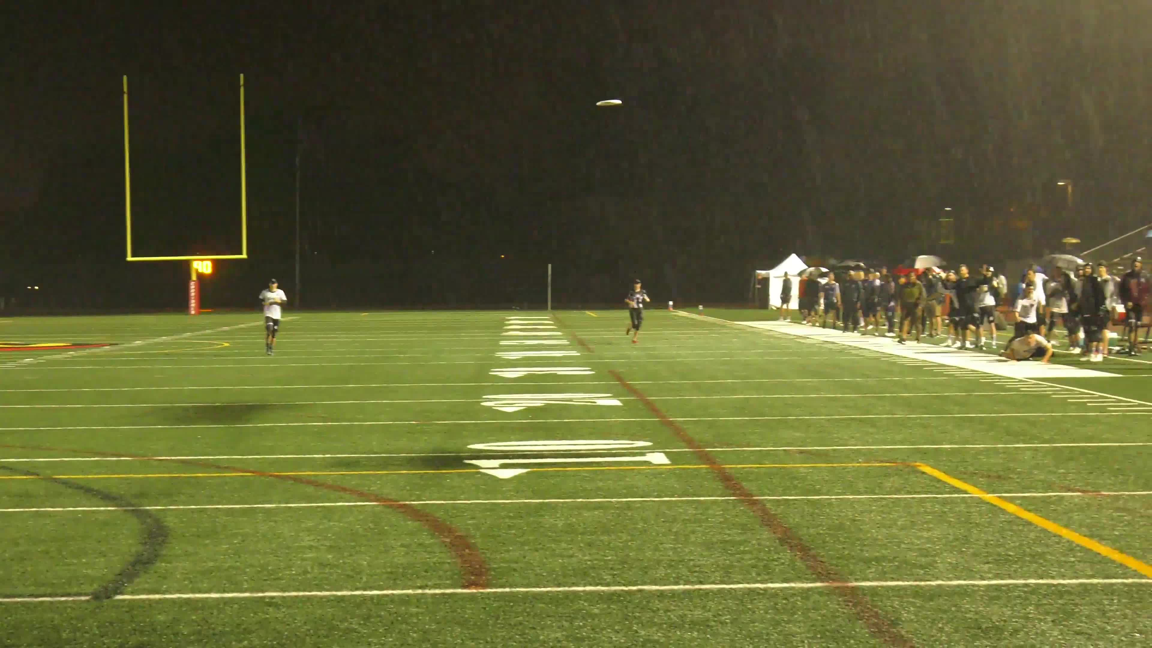 american ultimate disc league, audl, raining, ultimate, ultimate frisbee, Matt Stevens Splash GIFs