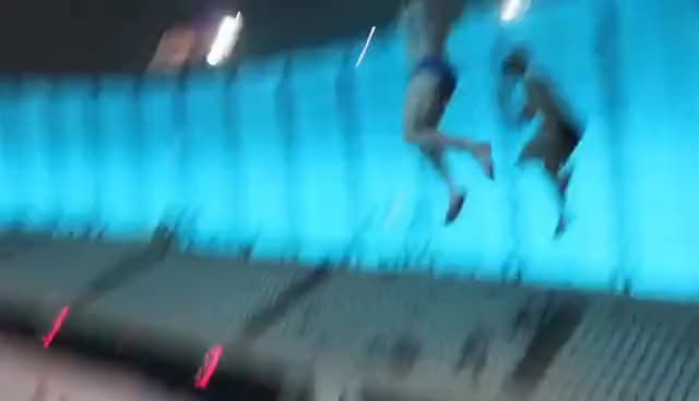 Watch and share Diving Into Gymnastics With Nile Wilson I Tom Daley GIFs on Gfycat