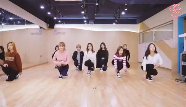 "Watch and share TWICE(트와이스) ""TT"" Dance Practice Video GIFs on Gfycat"