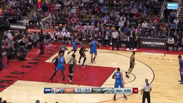 Watch and share Steven Adams GIFs and Nba GIFs by bladner on Gfycat