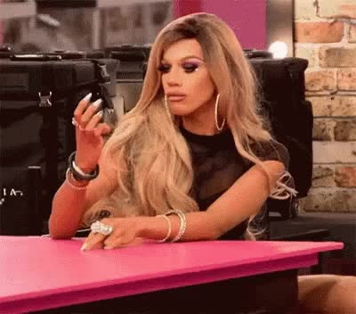 Watch and share Naomi Smalls GIFs and Waiting GIFs by baogfycat on Gfycat