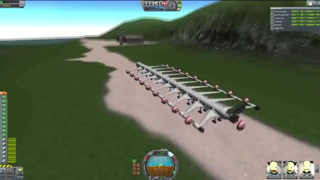 Watch and share Jumbo Limo Deluxe Flight To The Island [340 Kerbals + 20 Wings] (reddit) GIFs by skyshrim on Gfycat
