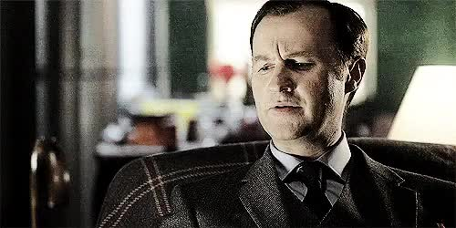 Watch Umbrellas, Goldfish & Three Piece Suits GIF on Gfycat. Discover more Gatissedit, I'm testing a new coloring not very successful I'm afraid XD, just some Mycroft, mark gatiss, mine, mycroft holmes, mycroftedit, nothing special, sherlock, sherlockedit, the great game GIFs on Gfycat