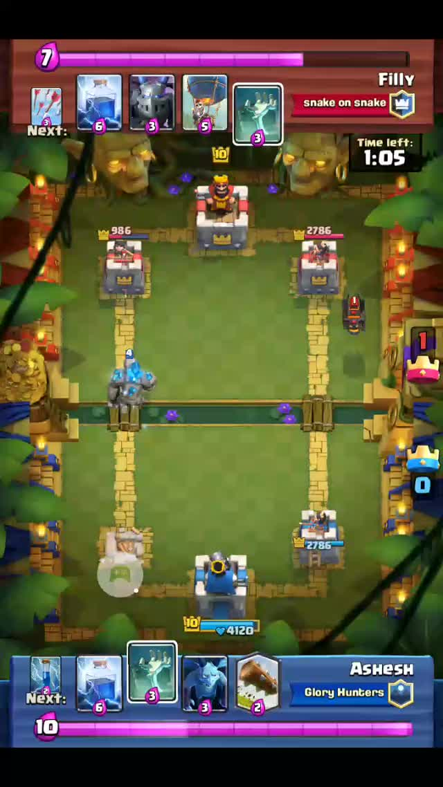 Watch Succesfully and skilfully broke that LavaLoon combo GIF on Gfycat. Discover more Clashroyale GIFs on Gfycat