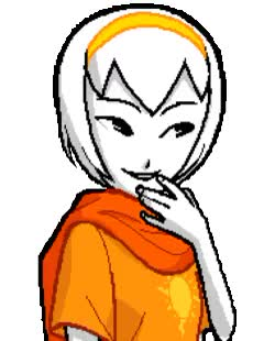Watch and share Animated Gif GIFs and Rose Lalonde GIFs on Gfycat